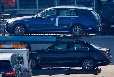Премьера пятидверной версии нового C-class состоится на Парижском автосалоне