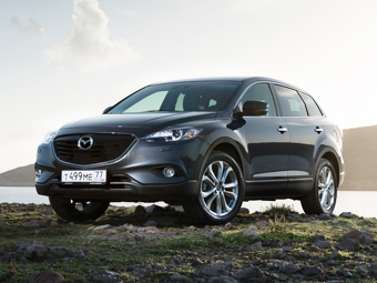 Mazda CX-9 сменит мотор V6 на «турбочетверку»