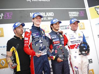 Двое россиян попали на подиум испанского этапа Формулы-Renault