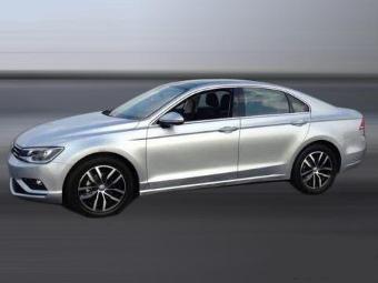 """Рассекречен дизайн серийного """"купеобразного"""" седана Volkswagen"""