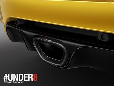 Новая версия хот-хэтча Megane RS будет представлена через два месяца. Фото 1