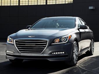 В Hyundai рассказали о моторах для седана Genesis в России