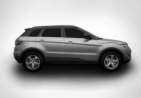 Китайцы запатентовали клон Range Rover Evoque