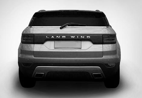 В Сети появились изображения нового кроссовера фирмы Landwind. Фото 1