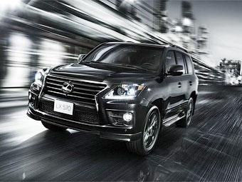 Lexus добавил внедорожнику LX механический нагнетатель