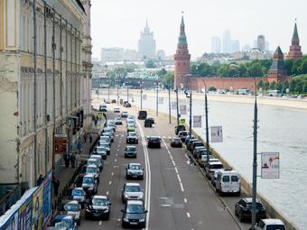 ГИБДД одобрила снижение максимальной скорости в центре Москвы
