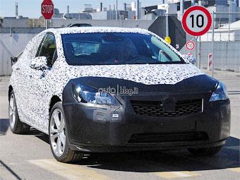 Opel начал испытания новой «Астры»
