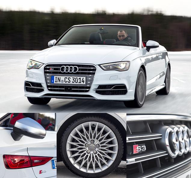 Почему идея ездить на кабриолете Audi S3 зимой не так уж плоха. Фото 1