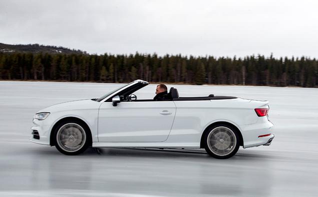 Почему идея ездить на кабриолете Audi S3 зимой не так уж плоха. Фото 2