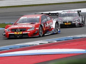 Петров финишировал на 17 месте в своей первой гонке DTM