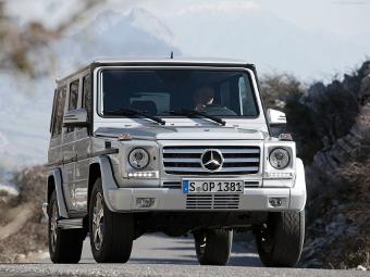 Новый Mercedes-Benz G-Class появится в 2017 году