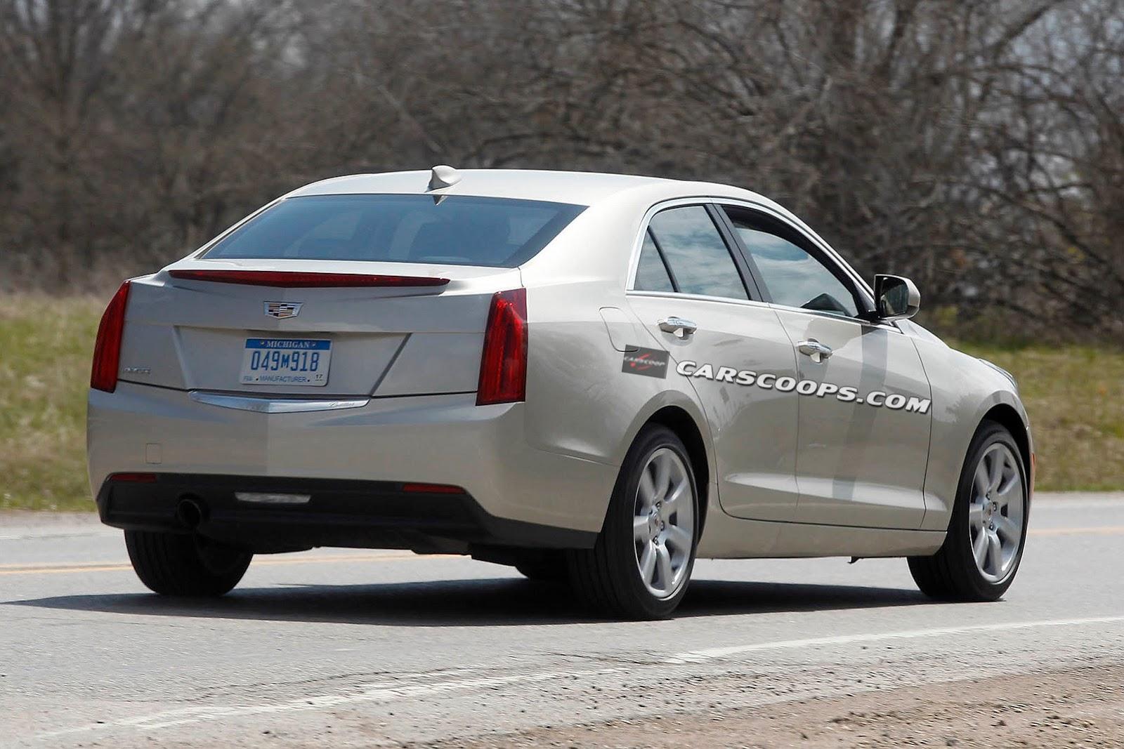 Cadillac готовит к рестайлингу седаны ATS и CTS