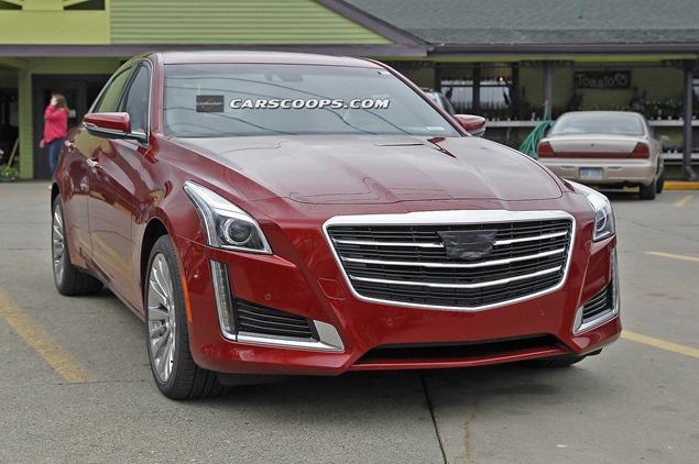 Cadillac готовит к рестайлингу седаны ATS и CTS. Фото 1