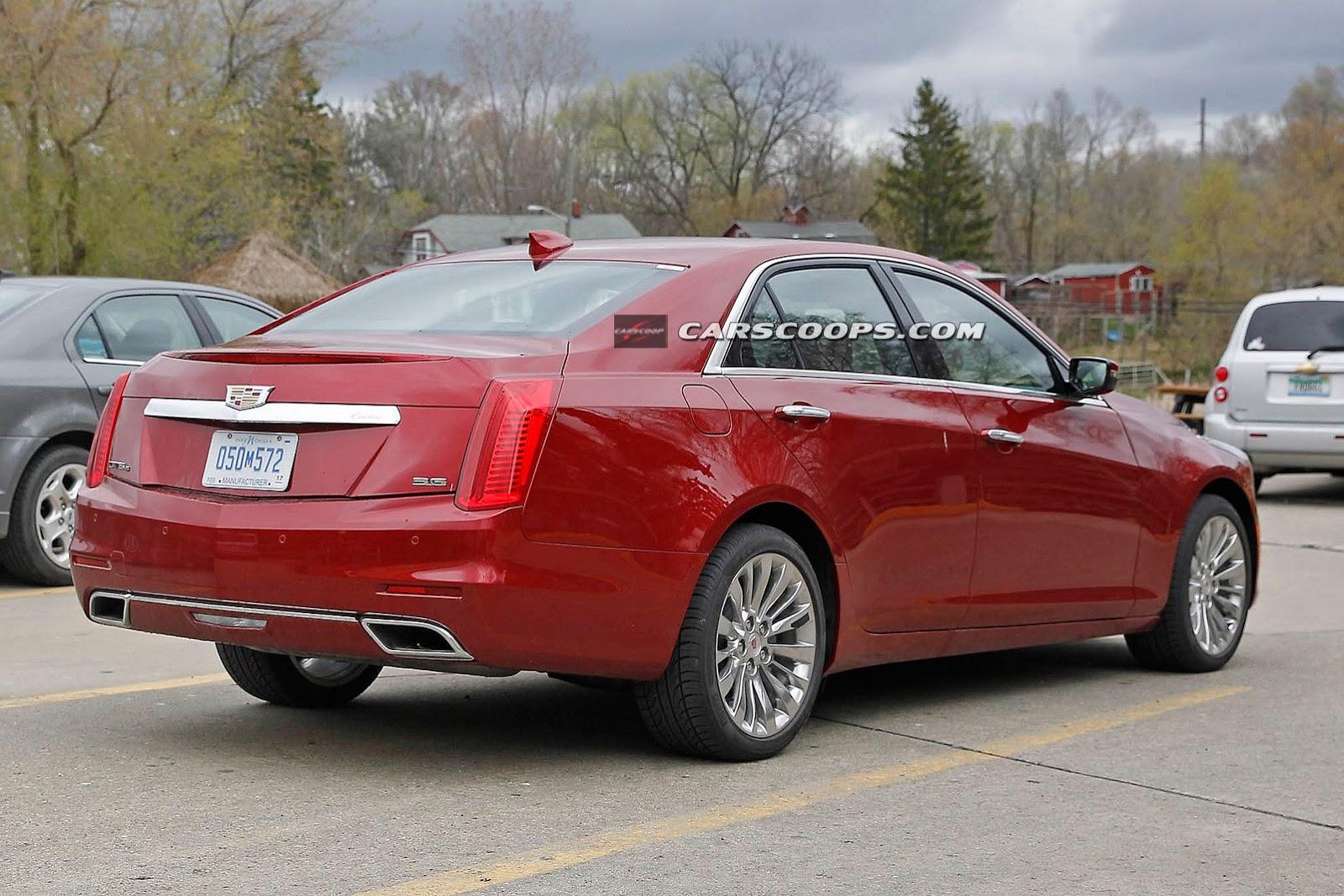 Cadillac готовит к рестайлингу седаны ATS и CTS. Фото 2