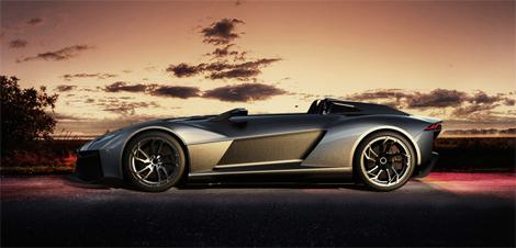 Фирма Rezvani Motors официально представила спорткар Beast