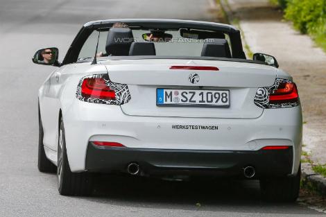 На дорожные тесты вывели кабриолет с 326-сильным мотором. Фото 2