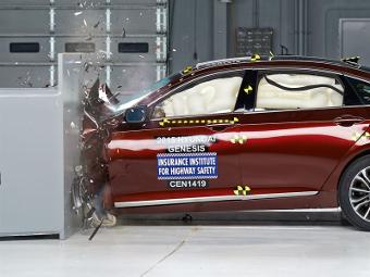 Новый Hyundai Genesis получил высшую оценку за краш-тест в США