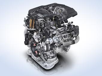 Компания Audi представила новую дизельную «шестерку»