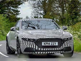 Aston Martin разработает большой седан