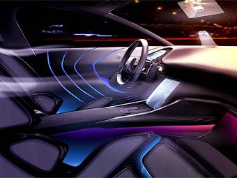 Peugeot и Citroen создали «антистрессовый» интерьер