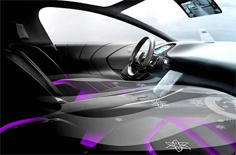 PSA Peugeot Citroen представила прототип автомобильного интерьера будущего