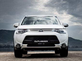До России добрался обновленный Mitsubishi Outlander
