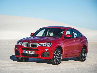 «Заряженная» версия BMW X4 станет 380-сильной