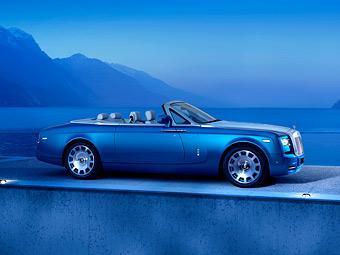 Rolls-Royce построил кабриолет в честь рекорда скорости на воде