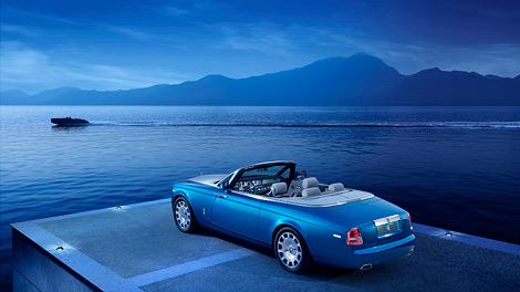 Спецсерия кабриолета Phantom Drophead Coupe выйдет тиражом 35 экземпляров