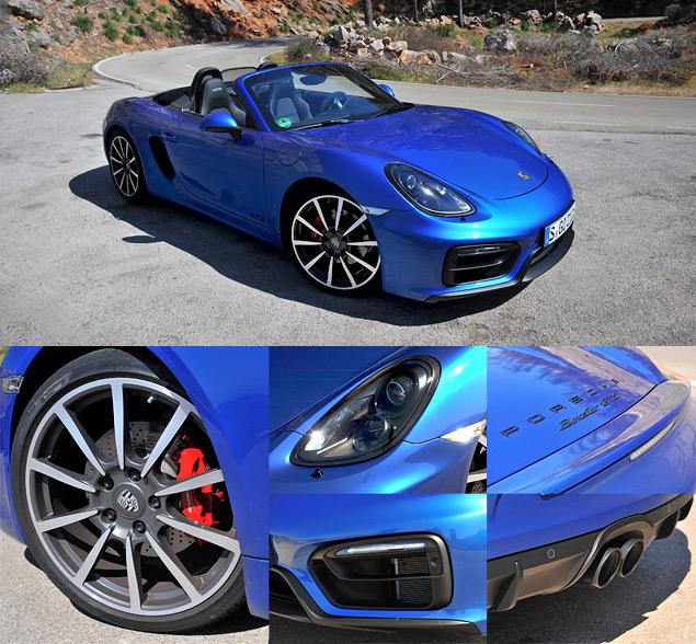 Тест самых мощных версий Porsche Boxster и Cayman. Фото 1