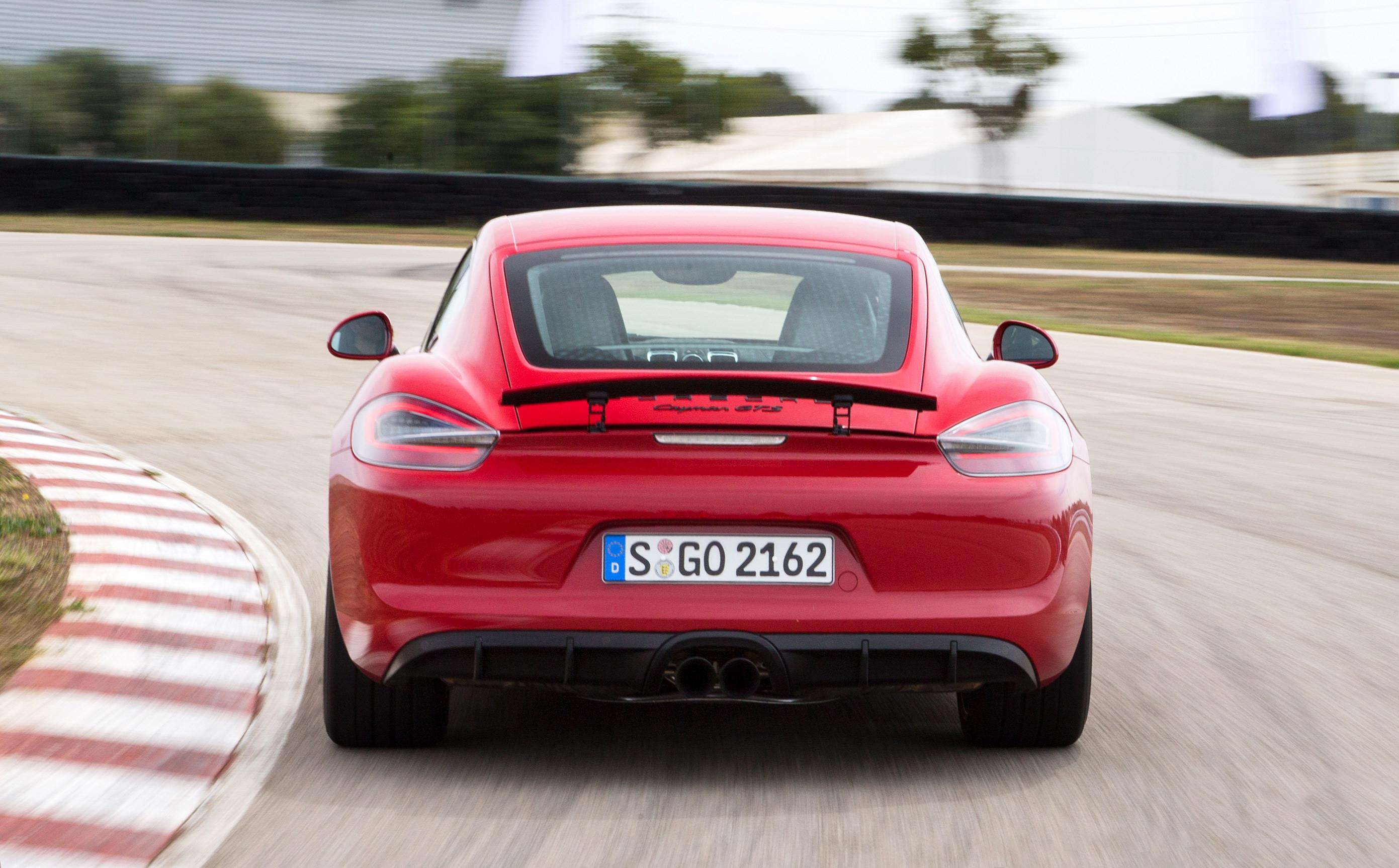 Тест самых мощных версий Porsche Boxster и Cayman. Фото 8