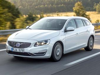 Компания Volvo привезла в Россию гибридный универсал