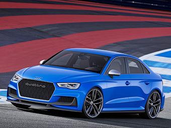 Audi построила 525-сильный седан A3