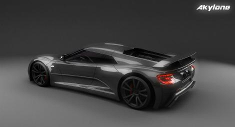 Компания Genty изменила технические характеристики своего будущего гиперкара