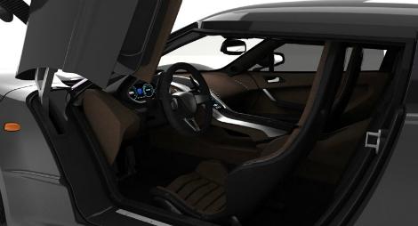 Компания Genty изменила технические характеристики своего будущего гиперкара. Фото 3