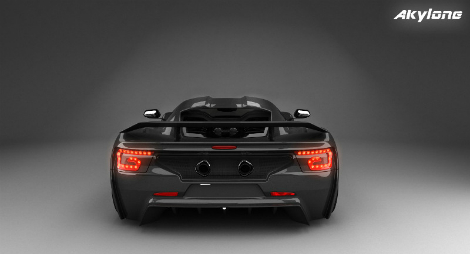 Компания Genty изменила технические характеристики своего будущего гиперкара. Фото 4
