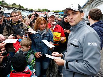 Петров остался без очков на втором этапе DTM