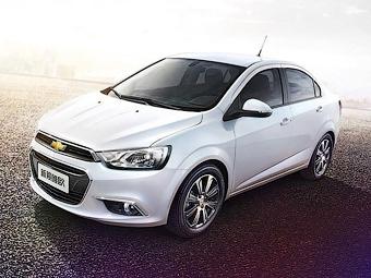 Компания Chevrolet обновила Aveo