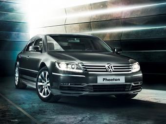 Новый VW Phaeton станет конкурентом Chrysler 300C