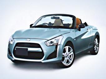 Возрожденный родстер Daihatsu Copen получит сменный кузов