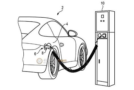 Появилось патентное изображение экологичного Porsche 911