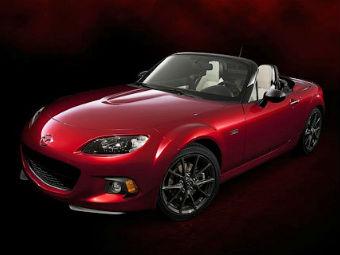 Спецсерию Mazda MX-5 раскупили за десять минут