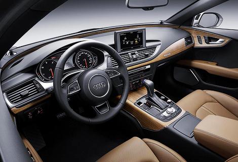 Автомобили семейства A7 получат матричные фары и иной дизайн передка. Фото 3