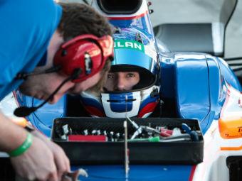 Николай Марценко снялся с этапа Формулы-Renault 3.5 в Монако