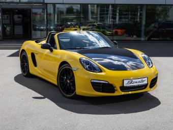 Porsche показала возможности персонализации Boxster в России