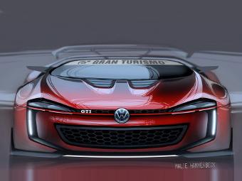Volkswagen представил виртуальный родстер для видеоигры