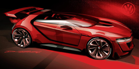 Реальный прототип суперкара покажут на фестивале фанатов VW