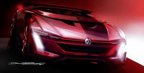 Реальный прототип суперкара покажут на фестивале фанатов VW. Фото 1