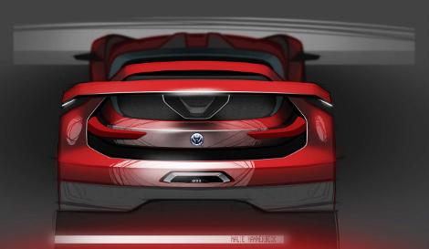 Реальный прототип суперкара покажут на фестивале фанатов VW. Фото 2