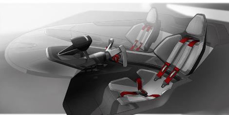 Реальный прототип суперкара покажут на фестивале фанатов VW. Фото 3